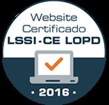certificado LSSI-CE - LOPD